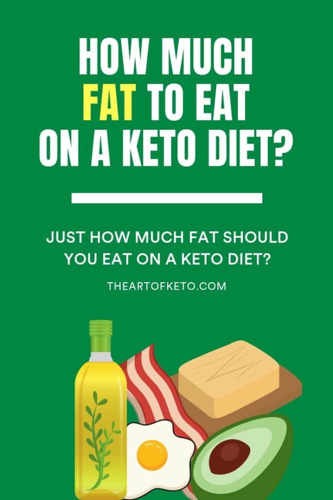 how much fat on keto pinterest cover