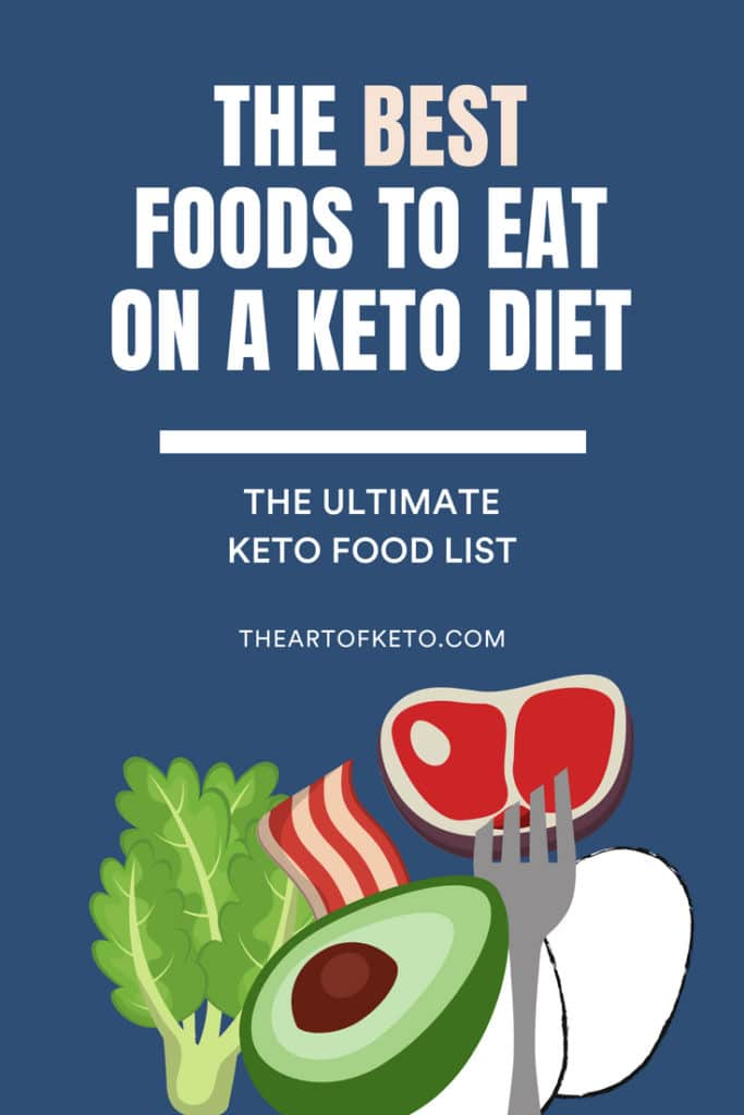 keto diet foods list pinterest cover