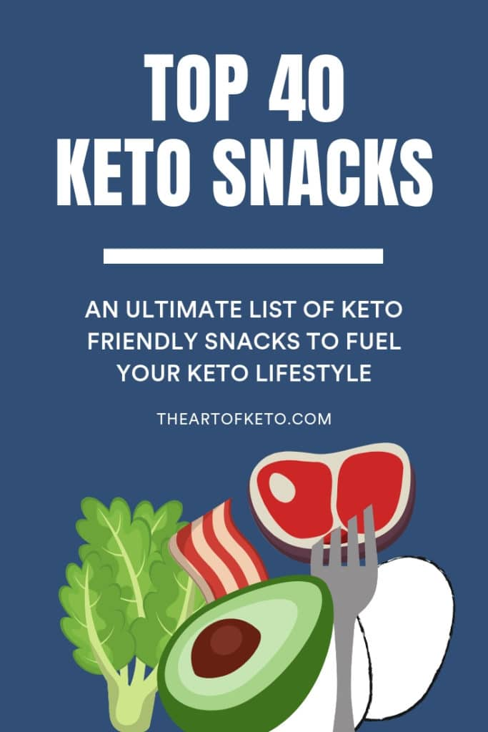 keto snacks pinterest cover