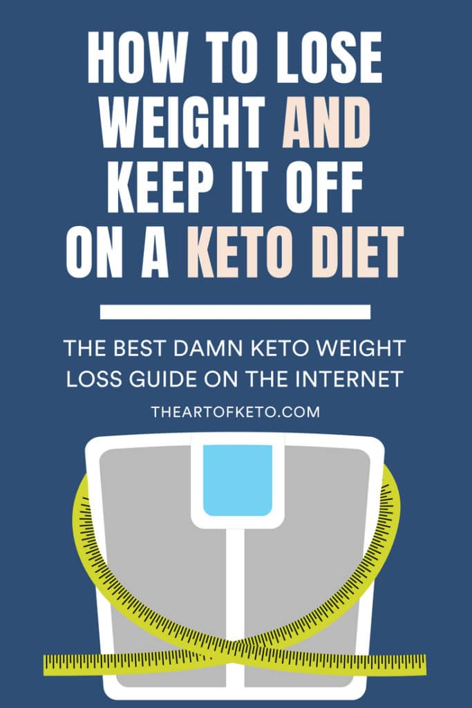 keto weight loss pinterest cover